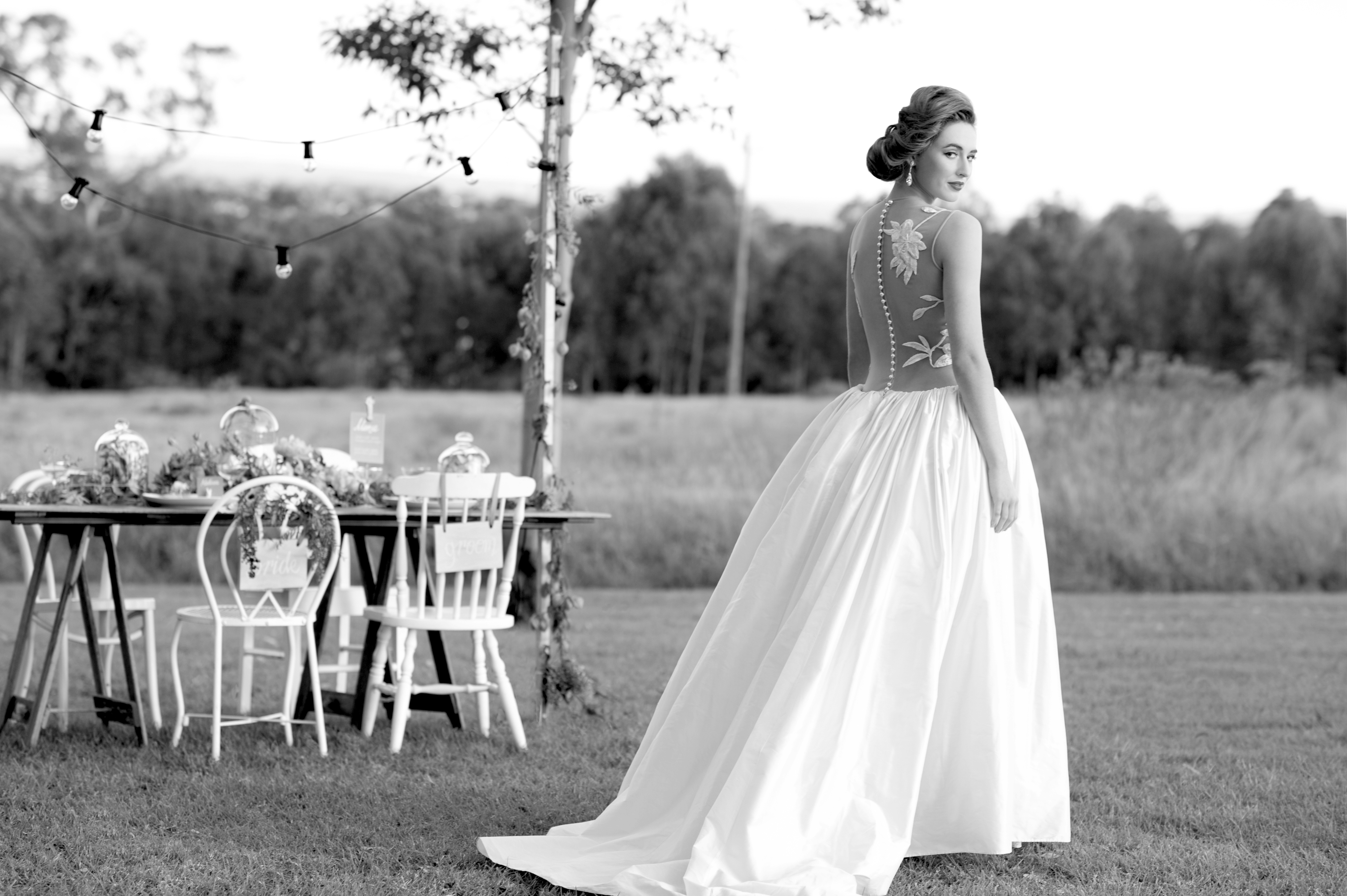 The 'Ylenia' Couture Wedding Gown