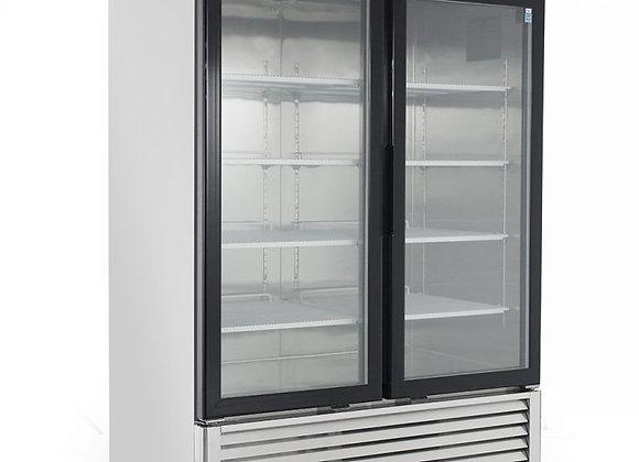 NSF Bottom Mount Two Glass Door Freezer -MCF8703GR