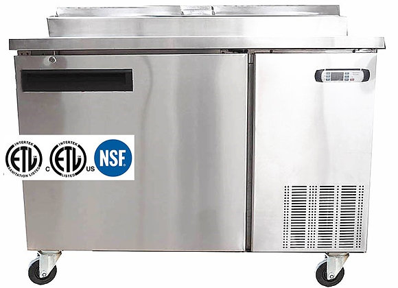 NSF One Door Pizza Prep Table - PZTN100