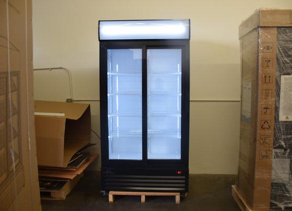 Double Sliding Glass Door Merchandiser Refrigerator - LGD-600S