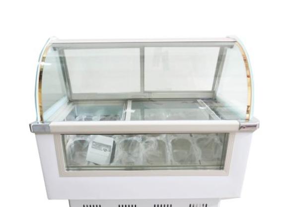 12 Pans Gelato Freezer Display Case- 1.2BDQ