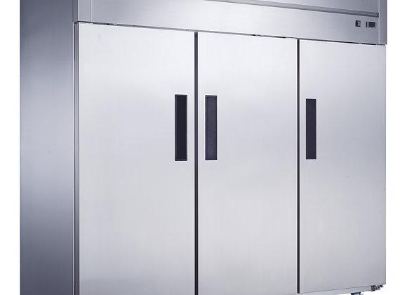 NSF Three Door Stainless Steel Freezer - D83F