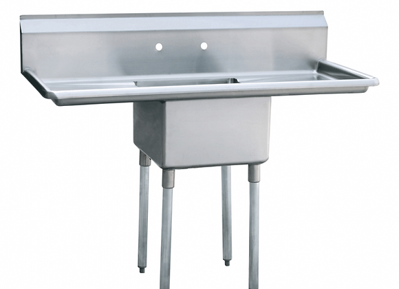 NSF One Compartment Sink 54 Inches - ASA54