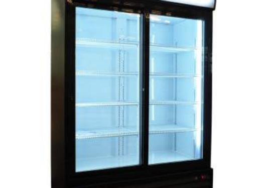 """NSF 52.4"""" Double Swing Door Merchandiser Refrigerator 42 cu.ft /1189 L -- GDC42"""