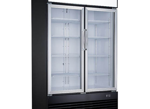 NSF Two Glass Door Refrigerator -DSM41R