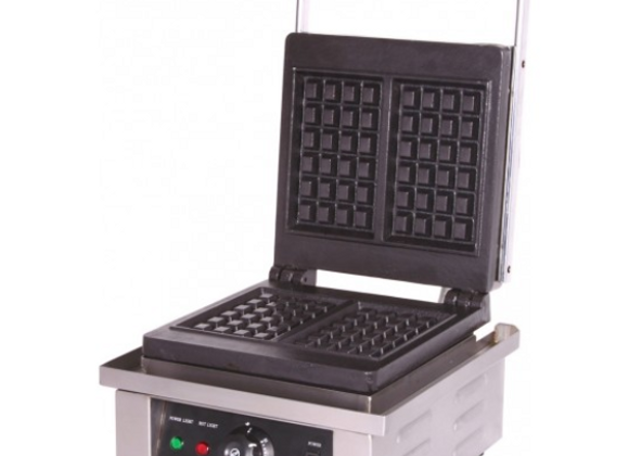 1-Plate Waffle Baker Square Plate - 022SWB01