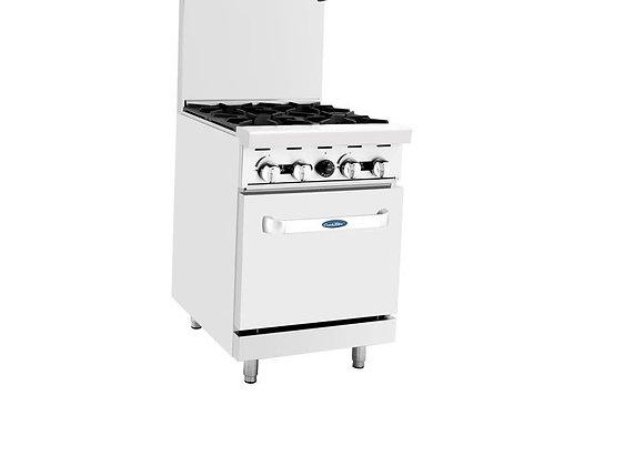 NSF 24″ Gas Range with Oven - C-RO4
