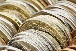 Variedad de monedas