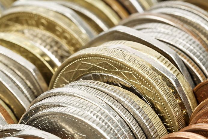 Variedade de moedas
