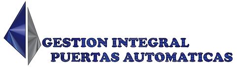 LOGO GESTION INTEGRAL PUERTAS AUTOMATICA