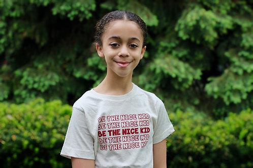 Be The Nice Kid Youth Tee