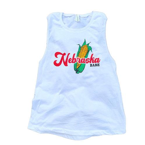 Nebraska Babe Women's Fit Tank