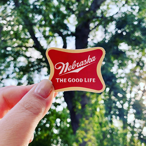The Good Life Sticker