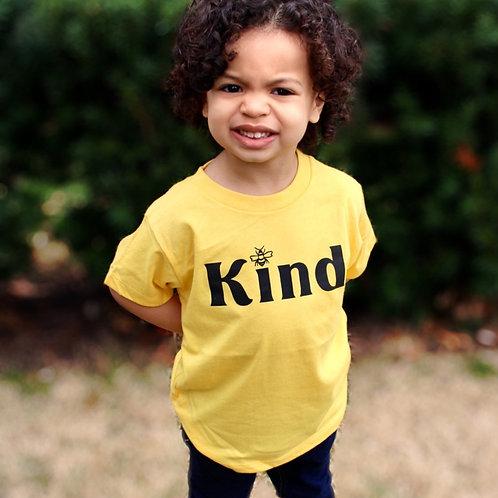 Bee 🐝 Kind Toddler Tee Yellow