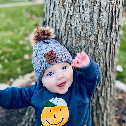 Infant Pom Pom Beanie