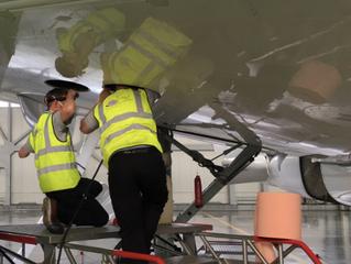 B737CL Fuel Tank Repair - Germany