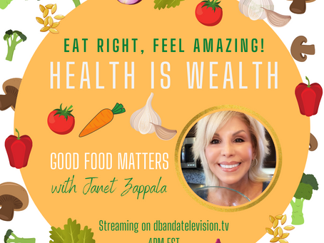 GOOD FOOD MATTERS IS STREAMING!