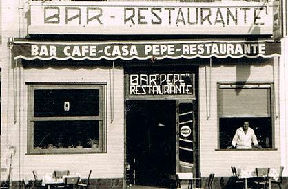Fachada Ca Pepe de El Saler 1962