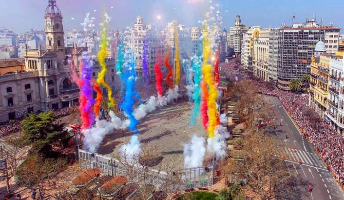 Un fin de semana en las Fallas de Valencia