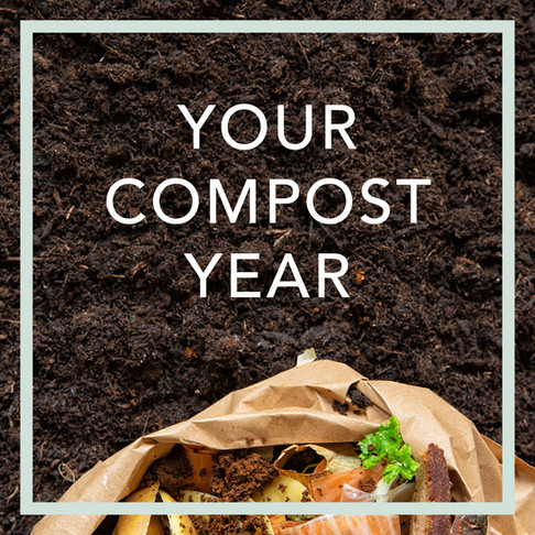 Happy New Composting - 8 Reasons Why 2021 Should Be Your Composting Year
