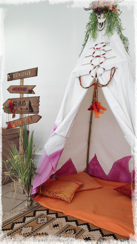 Tipi pour photobooth