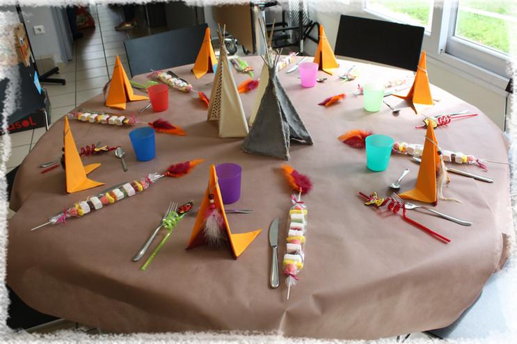Tables des enfants