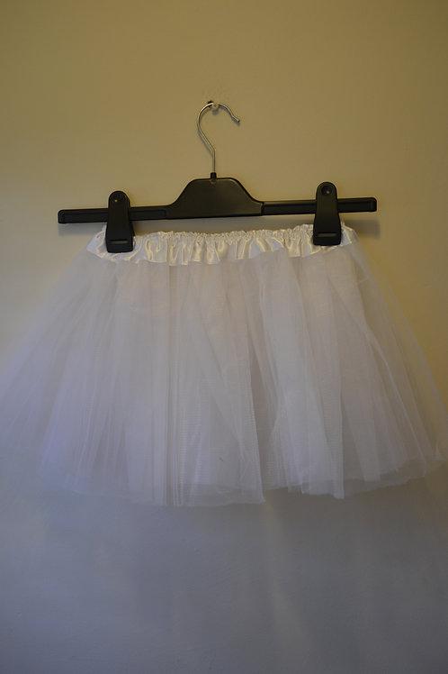 White Net Skirt