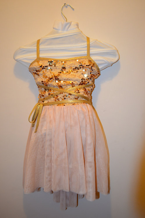 Sparkly Gold Dress
