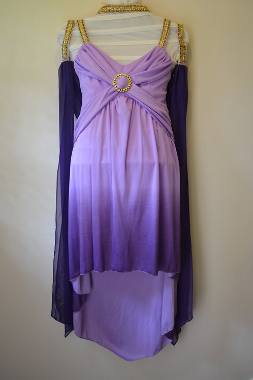 Purple Goddess Costume