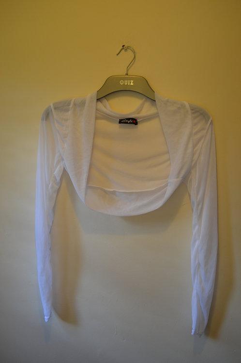 White Shrugs Long Sleeved x 2