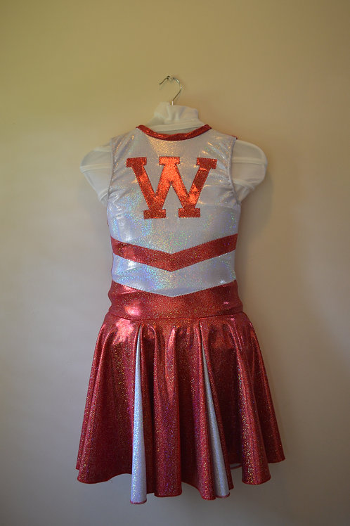 Red / White Cheerleader Dress