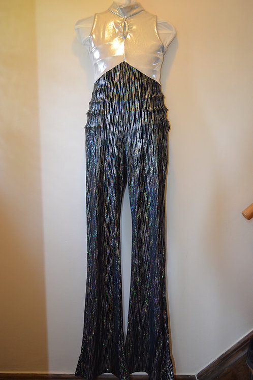 Silver and Black All in One (Trouser Length can be adjusted)
