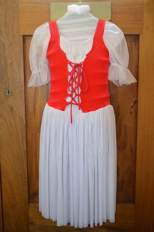 Red / White Dress