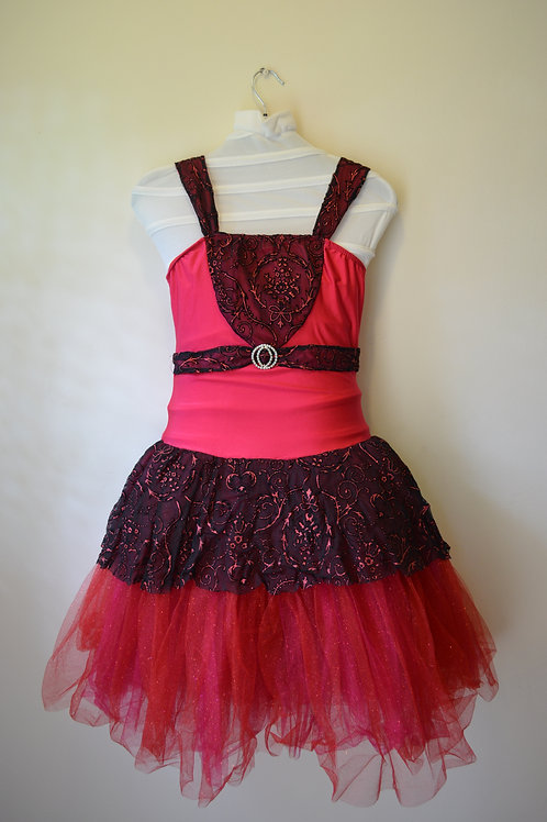 Sparkly Red Romantic Tutu