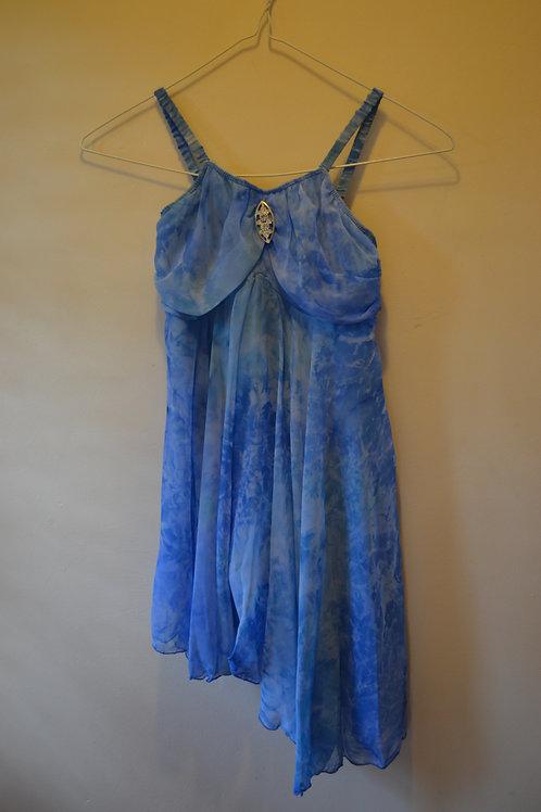 Blue Lyical Dress