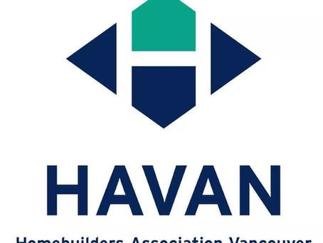 HAVAN温哥华建商协会
