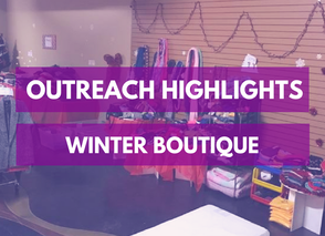 Outreach: Winter Boutique 2017