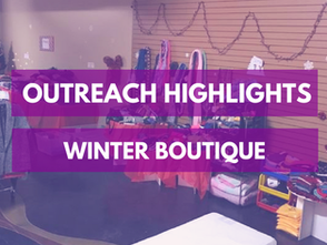 Outreach: Winter Boutique 2017
