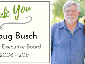 Thank You to Doug Busch: Executive Board Member from 2008 to 2017