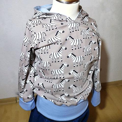 """Kinder Pullover Gr. 86/92 """"Zebra"""""""