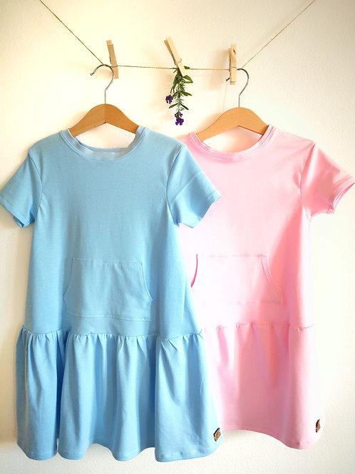 "Jersey Kleid ""Leni"" Gr. 122/128"