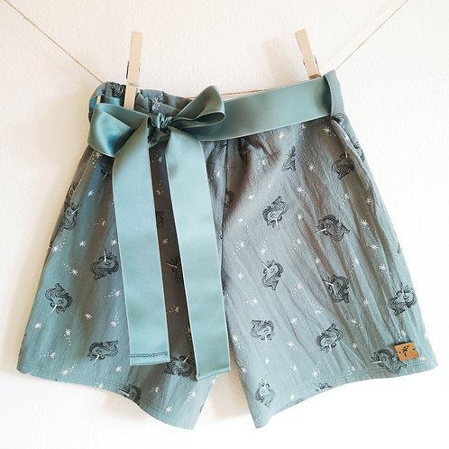 "Shorts""Franzi"" Einhorn Gr. 122/128"