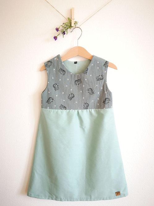 """Kleid """"Anni"""" Einhorn Gr. 110/116"""