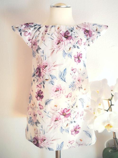"""Kleid """"Emy"""", Blumen, Gr. 98/104"""