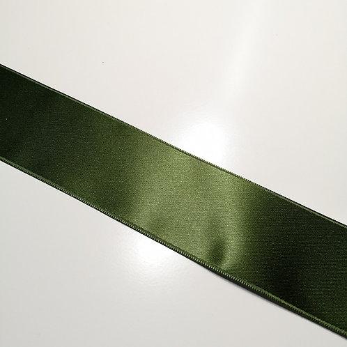 Satinband oliv