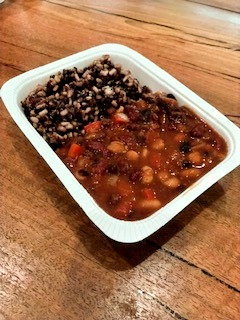 Chilli Beans with Black Rice, Brown Rice & Quinoa