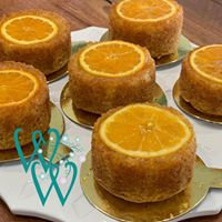Individual Upside Down Orange Cake