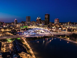 Aerial Photo of Rochester, NY shot from a Drone.