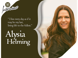 Alysia Helming in Vesper Magazine