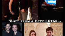 """Gift"" from a Greek Star #BlogSeven #AlysiaHelming #RealLifeStory"